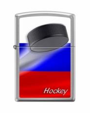 Зажигалка Zippo 200 RUSSIAN HOCKEY PUCK