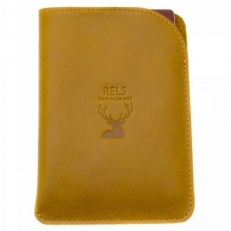 Чехол на паспорт Gamma рыжый