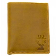 Кожаный бумажник Betta рыжий