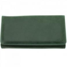 Женский кожаный кошелек Vito зеленый