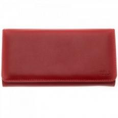 Женский кожаный кошелек Vito красный
