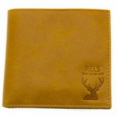 Мужской кошелек Fargo рыжий