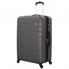 Большой пластиковый чемодан Alverstone