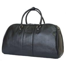 Кожаная дорожная сумка Норманно черная