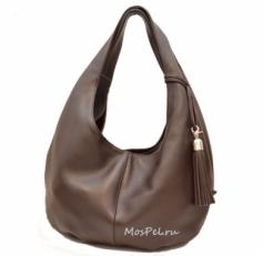 Мягкая женская сумка 3080 шоколадная