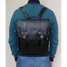 Черная сумка-рюкзак Тронто фото-2