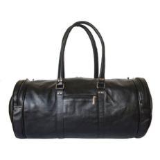 Кожаная спортивная сумка мужская Бельфорте черная