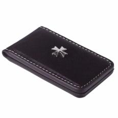 Кожаный зажим для денег Narvin 9112 N.Vegetta Brown