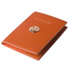 Обложка на паспорт  Narvin 9161 N.Polo Orange