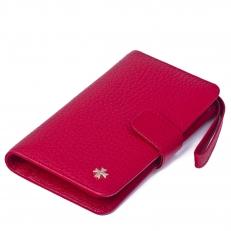 Кожаное портмоне 9242 N.Polo Red