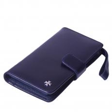 Кожаный бумажник 9218 N.Vegetta D.Blue