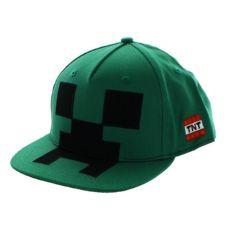 "Бейсболка Майнкрафт ""Крипер"" Creeper Mob Hat Applique"