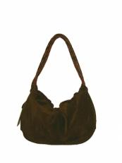 Сумка женская мешок без дна 2160 коричневая