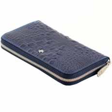 Кожаное портмоне Narvin 9591 N.Bambino D.Blue