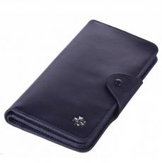 Кожаное портмоне Narvin 9650 N.Vegetta D.Blue