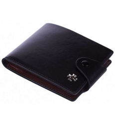 Кожаное портмоне Narvin 9651 N.Vegetta Black