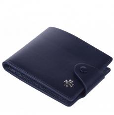 Кожаное портмоне Narvin 9651 N.Vegetta D.Blue