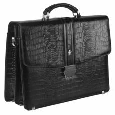Портфель мужской Narvin 9736 N.Aligro Black