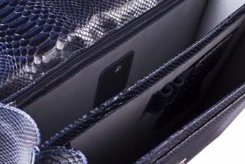 Портфель мужской 9736 N.Anaconda D.Blue фото-2