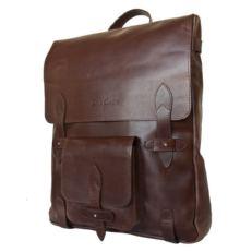 Тонкий городской  рюкзак Арма коричневый