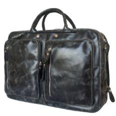 Сумка-рюкзак мужская Ферроне черная