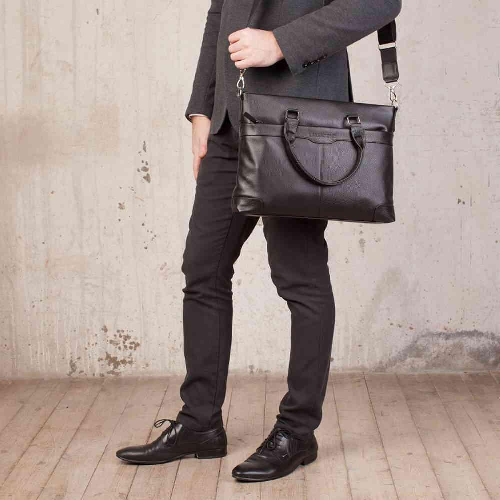 Кожаная деловая сумка Gilroy фото-2