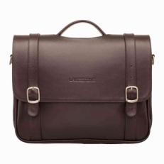 Мягкий кожаный портфель Redcliff Brown