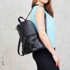 Кожаный рюкзак Bridges Black
