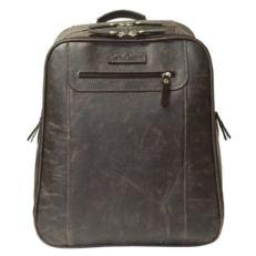 Мужской кожаный рюкзак Коссира коричневый фото-2
