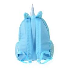 Дошкольный рюкзак с пайетками Единорог с сердцем Bright Dreams бирюзовый фото-2