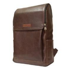 Кожаный рюкзак Туфетто темно-терракотовый