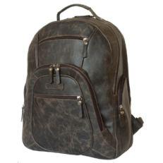 Повседневный кожаный рюкзак Жерардо коричневый