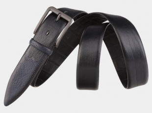 Брючный ремень AT35-112 черный