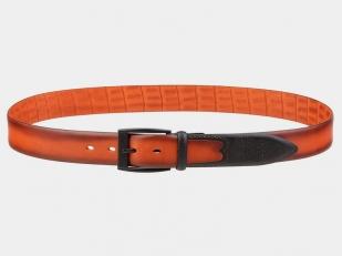 Брючный ремень AT35-116 оранжевый
