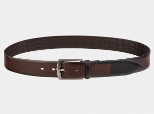 Брючный ремень AT35-117 коричневый