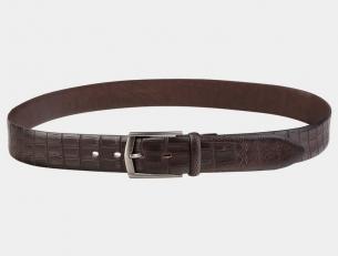 Брючный ремень AT35-119 коричневый