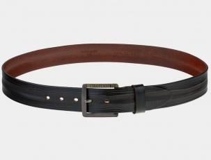 Кожаный ремень AT40-116 коричневый