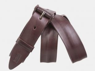 Джинсовый ремень AT40-142 коричневый