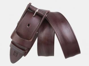 Джинсовый ремень AT40-145 коричневый