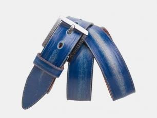 Винажный ремень AT40-147 синий