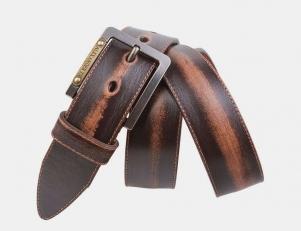 Винажный ремень AT40-148 коричневый