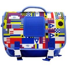 Школьный ранец синего цвета U18-013