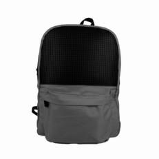 Школьный пиксельный рюкзак WY-A013 серый