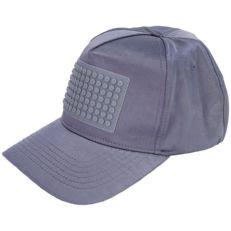 Бейсболка пиксельная серый металлик NH023 M