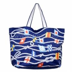 Пляжная сумка 10475-BE синяя