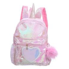 Рюкзак с пайетками Единорог с сердцем Bright Dreams
