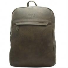 Рюкзак из натуральной кожи коричневый Bellamy
