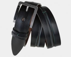 Кожаный ремень AT40-117 коричневый