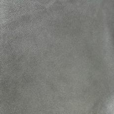 """Натуральная кожа """"Флотер черный металлик"""" фото-2"""