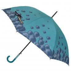 Зонт-трость BV-BB110 бирюзовый